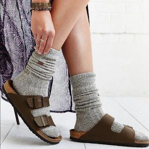 Birkenstock Arizona Brown Oiled Leather Sandals 38